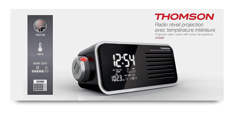 Thomson CP300T - Radio (Reloj, Digital, FM,MW, 87,5-108 MHz, 0,5 W ...