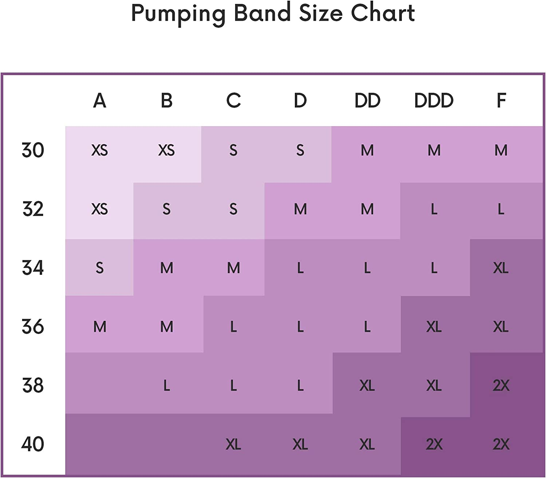 Abergele Damen Hands Free Pumping Band /Â Strapless Breast Pump Bra /Â BH XX-Large schwarz