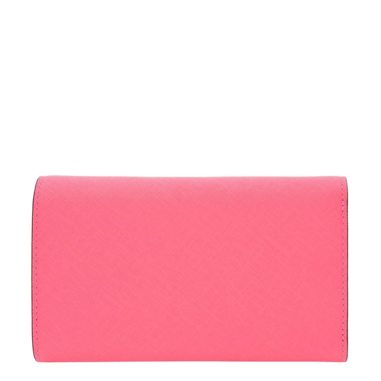 LOUIS QUATORZE Womens Cow Leather Trifold Wallet SK4AL75PI One Size Pink