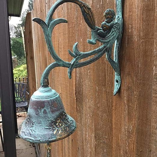 Better Brass - Campana Decorativa para el hogar o el jardín: Amazon.es: Jardín