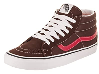 67a95cdb9f1066 Vans Unisex Sk8-Mid Reissue Shaved Chocolate Rococco Skate Shoe 9.5 Men US