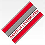 Bertels 1//013351 Bayer 04 Leverkusen Handtuch Blockstreifen