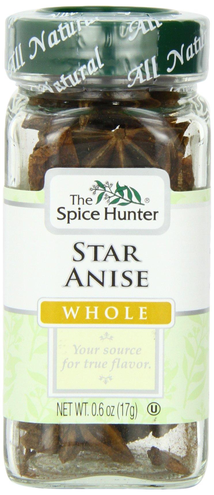 The Spice Hunter Star Anise, Whole, 0.6-Ounce Jar