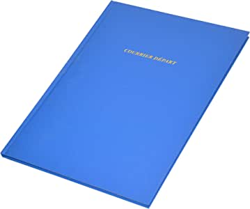 FIS Courier D Part Book, Arabic/French Language, 80 Sheets, 215 x 335 mm Size - FSCLCD