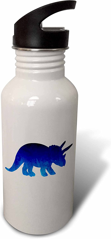 21 oz 3D Rose wb/_252130/_2 Flip Straw Water Bottle