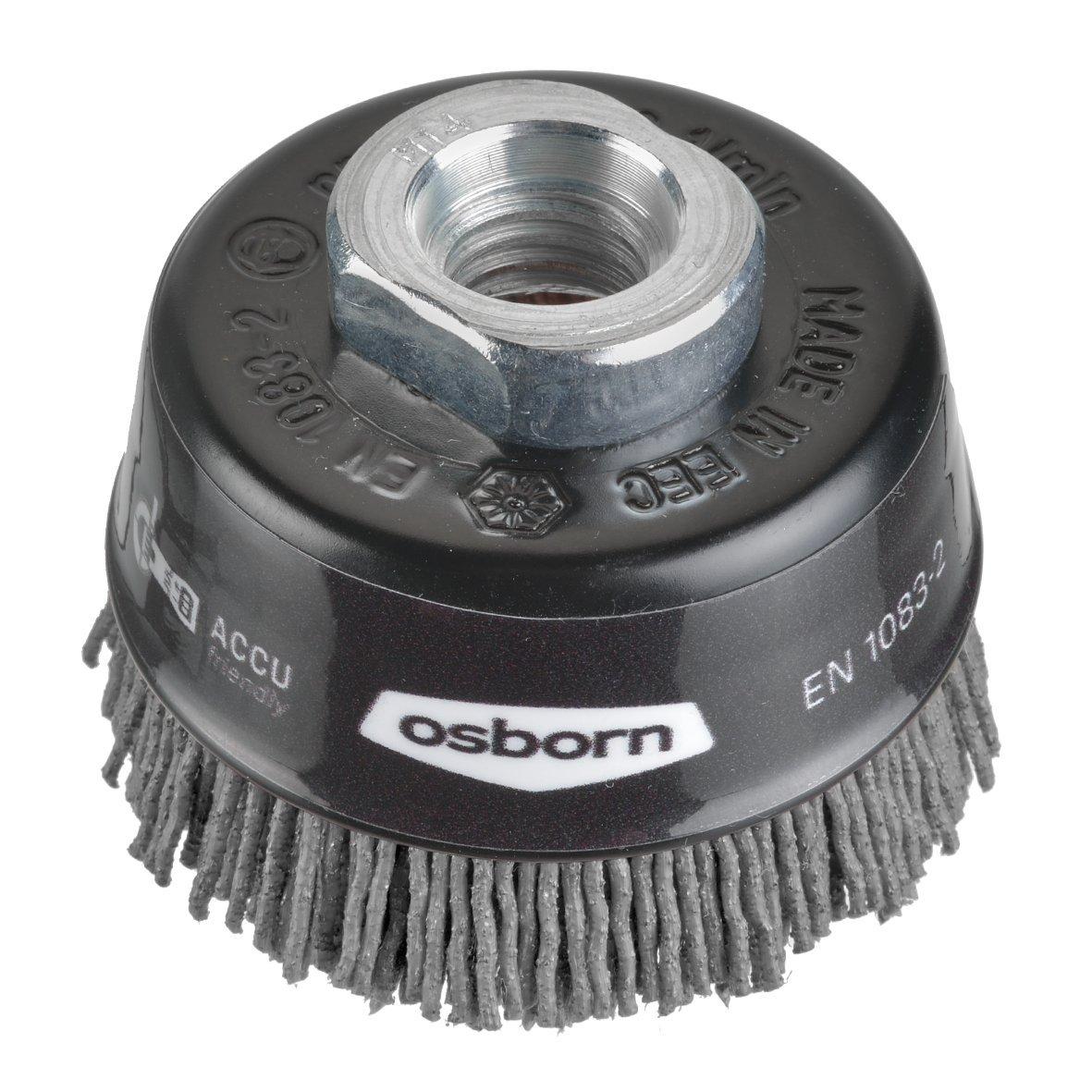 Osborn Neuhheit Topfbü rste fü r Akku-Winkelschleifer 115 mm, D 60 mm, 1 Stü ck, 6802613891 Osborn International GmbH