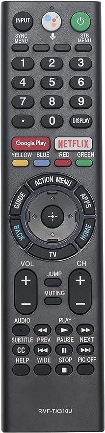 New SONY KD-65XF8505 GENUINE ORIGINAL LED TV REMOTE CONTROL