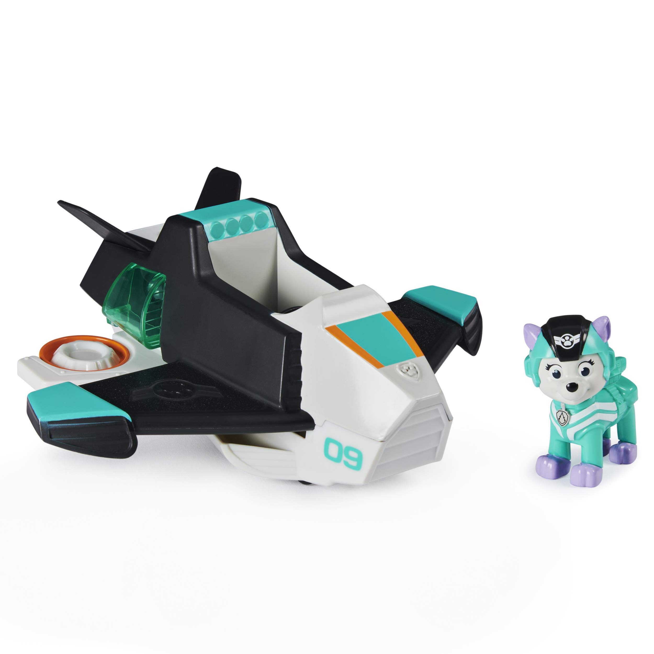 Paw Patrol, Jet to The Rescue Everest Deluxe Transforming Vehicle with Lights and Sounds, Amazon Exclusive