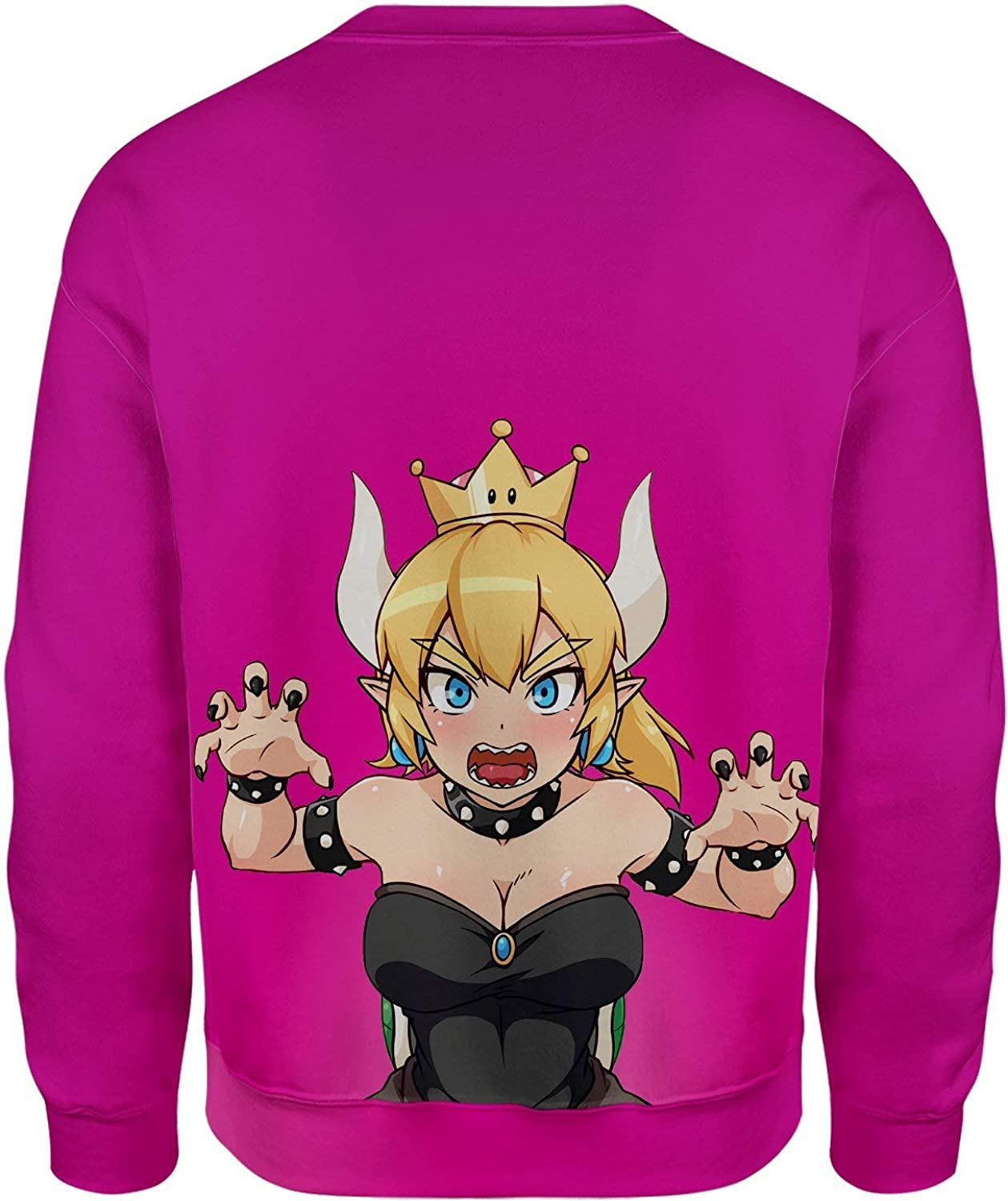 All Over Shirts Bowsette Pink Sweatshirt