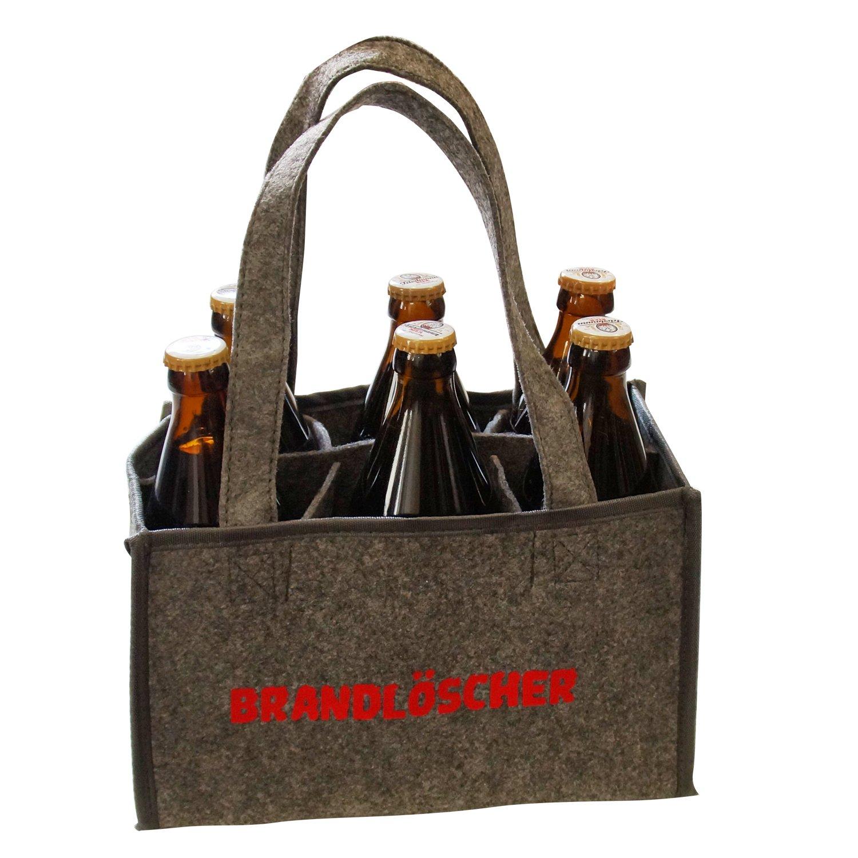 Heimatkuss Männerhandtasche Brandlöscher für Bier Schnaps, Original ...