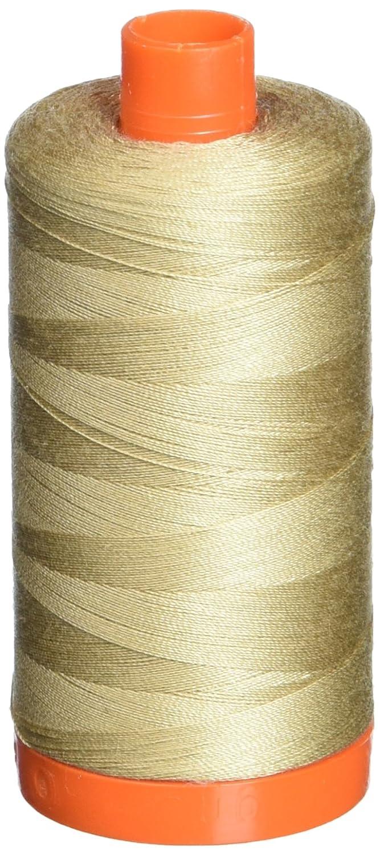 Aurifil A1050-2326 Mako Cotton Thread Solid, 1422 yd, Sand