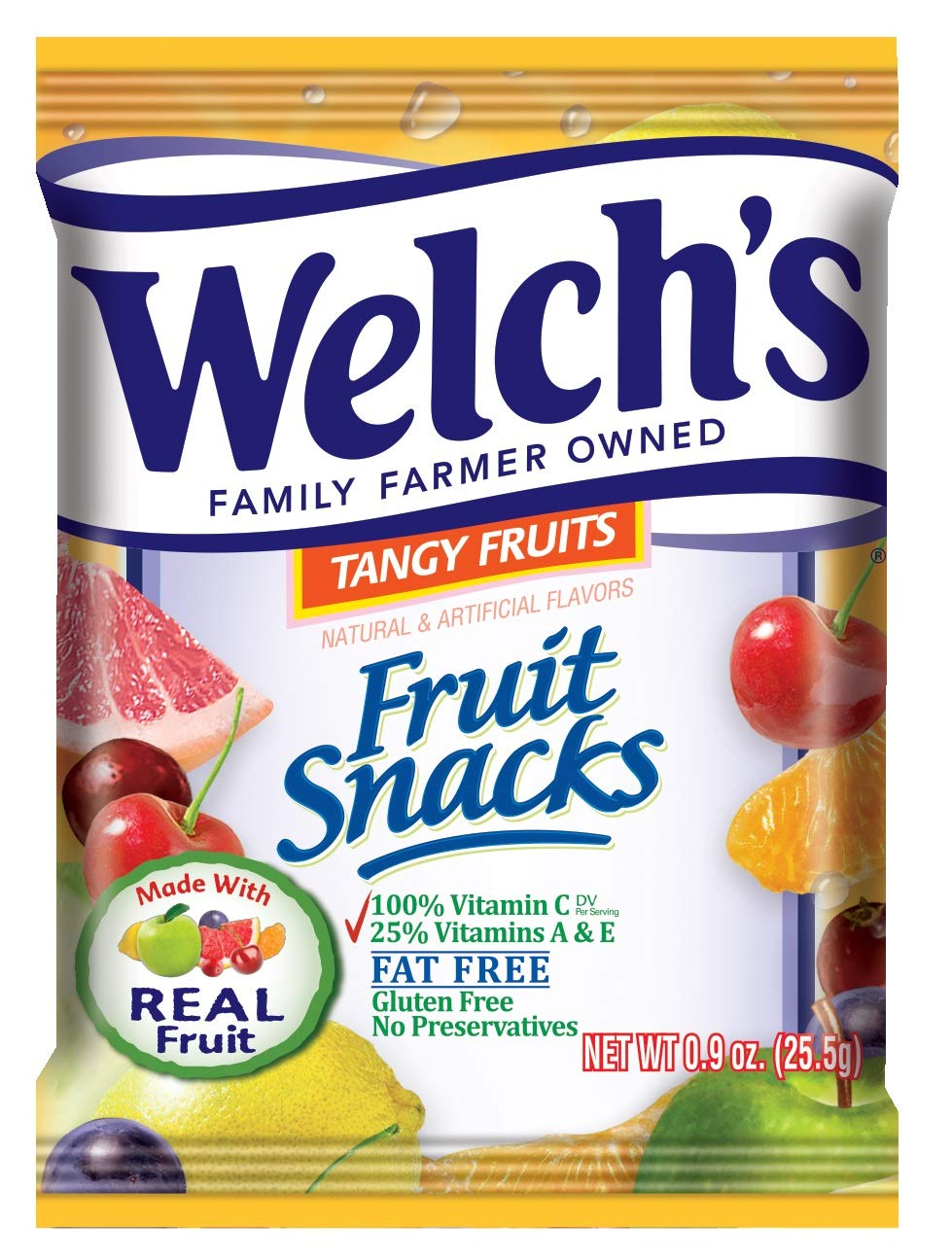 Welch's Fruit Snacks (Tangy Fruits (44 Count)) by Welch's (Image #3)