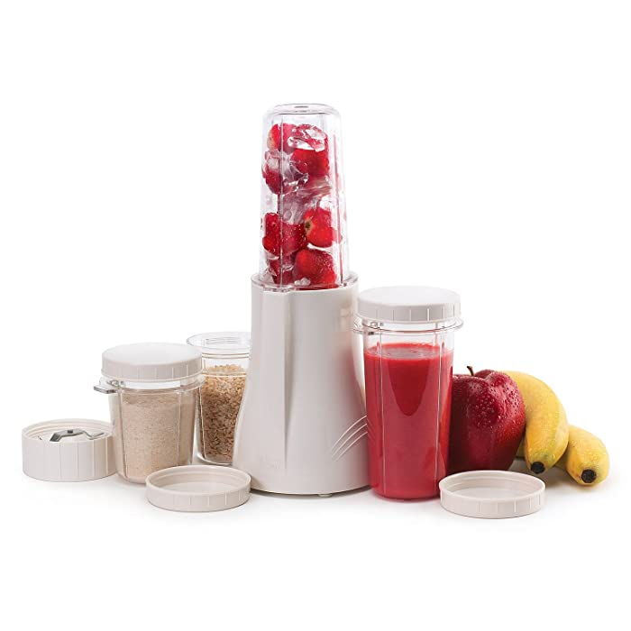 Tribest PB-250R-A Personal Blender and Grinder Package, White, Certified Refurbished