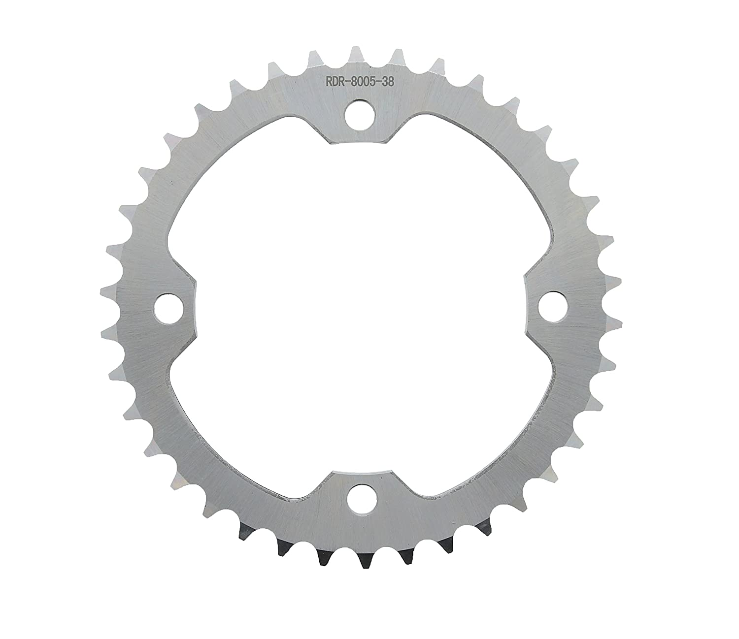 Red Non O-Ring 98L Chain /& Silver Sprocket 14//38 06-09 fits Yamaha YFM700 700 Raptor