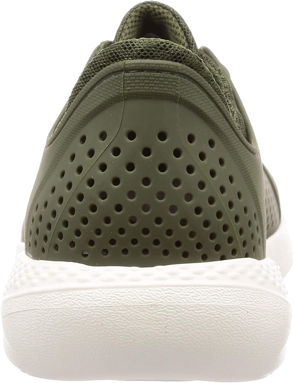 Crocs Literide Pacer M, Chaussures de Loisirs et Sportwear Homme Vert Army Green White