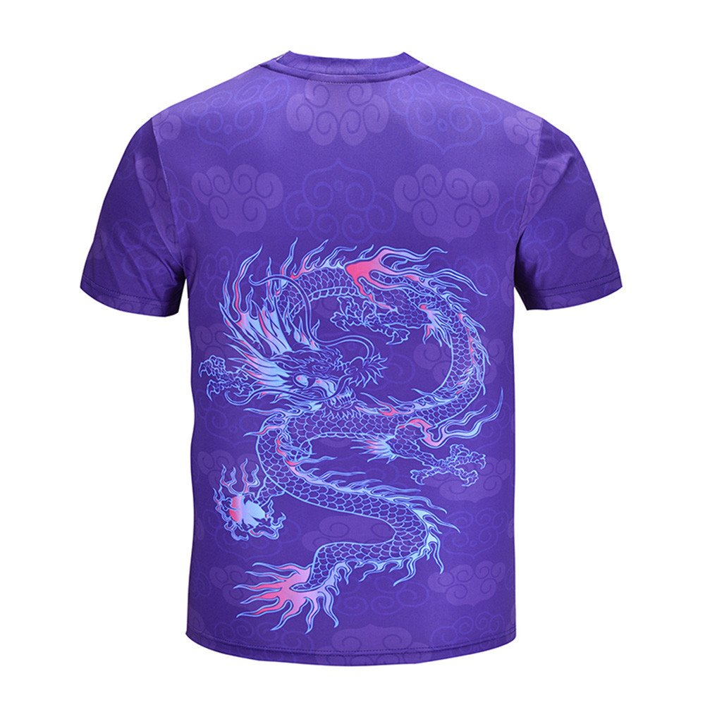 OWMEOT Unisex 3D Graphic Printed Short Sleeve Casual T-Shirts Tees