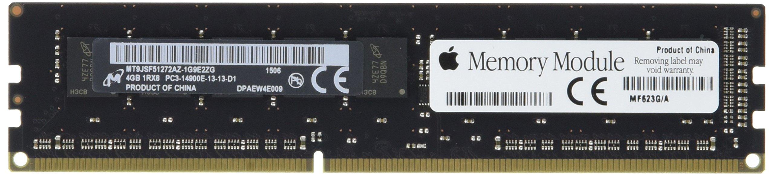 Apple 4GB Memory (1x4GB) PC3-14900 DDR3-1866MHz CAS=13 ECC DIMM Memory for Mac Pro (Late 2013)