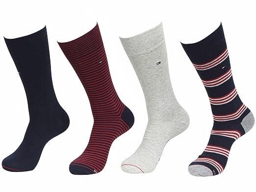 47068891 Tommy Hilfiger Mens Dress Socks 4-pack Shoe Size 7-12 (Shoe Size 7 ...