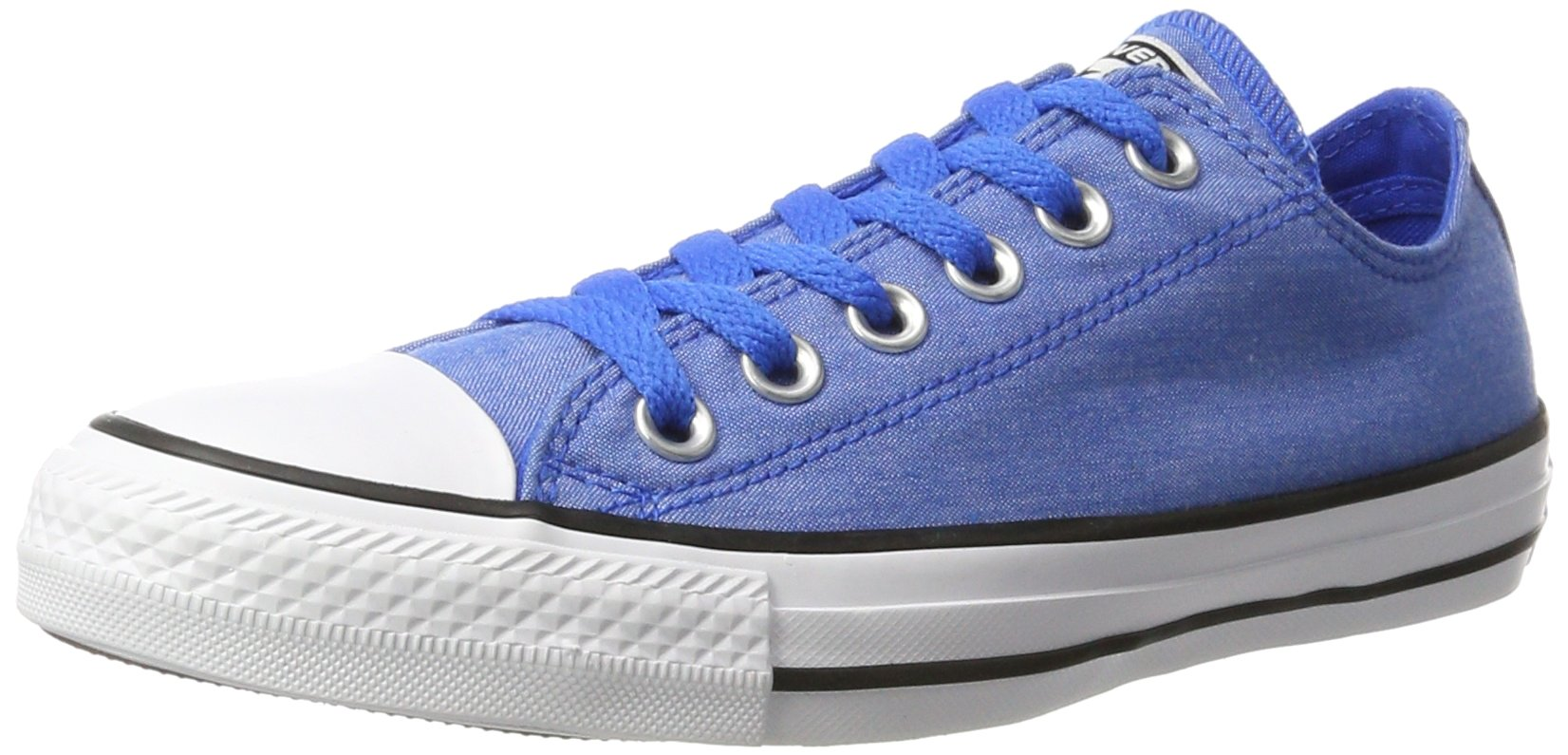 Converse Mens Chuck Taylor Oxford Blue Cotton Trainers 10 US