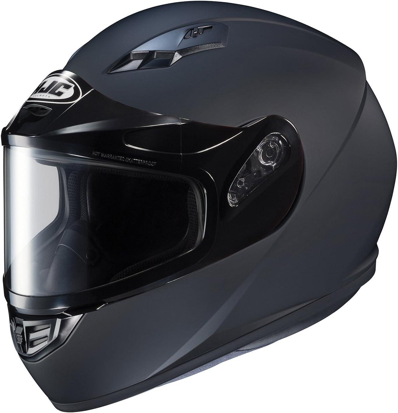 HJC Helmets Unisex-Adult Full Face Snow Helmet with Framed Dual Lens Shield