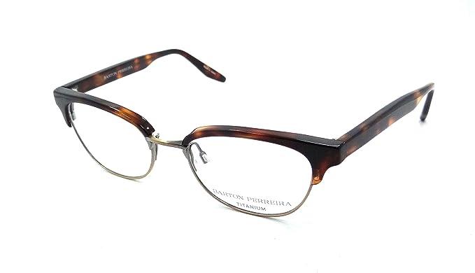 Amazon.com: Barton Perreira RX Eyeglasses Frames Estelle 49x17 ...