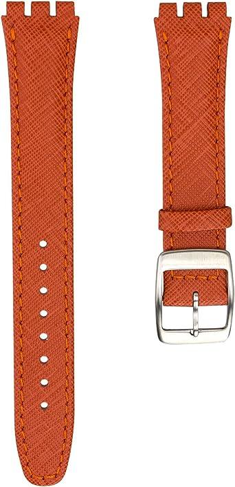 bracelet cuir swatch