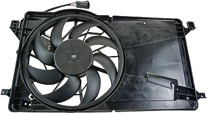 Radiador Refrigeración Asamblea Motor ventilador hoja de cubierta ...