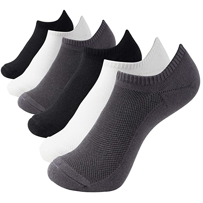 47d92d719f73 Amazon.com  +MD Ultra Soft Athletic Bamboo Socks For Women and Men ...