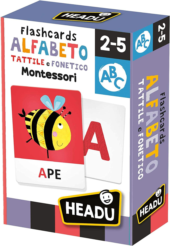 Flashcards Alphabeto Tattile