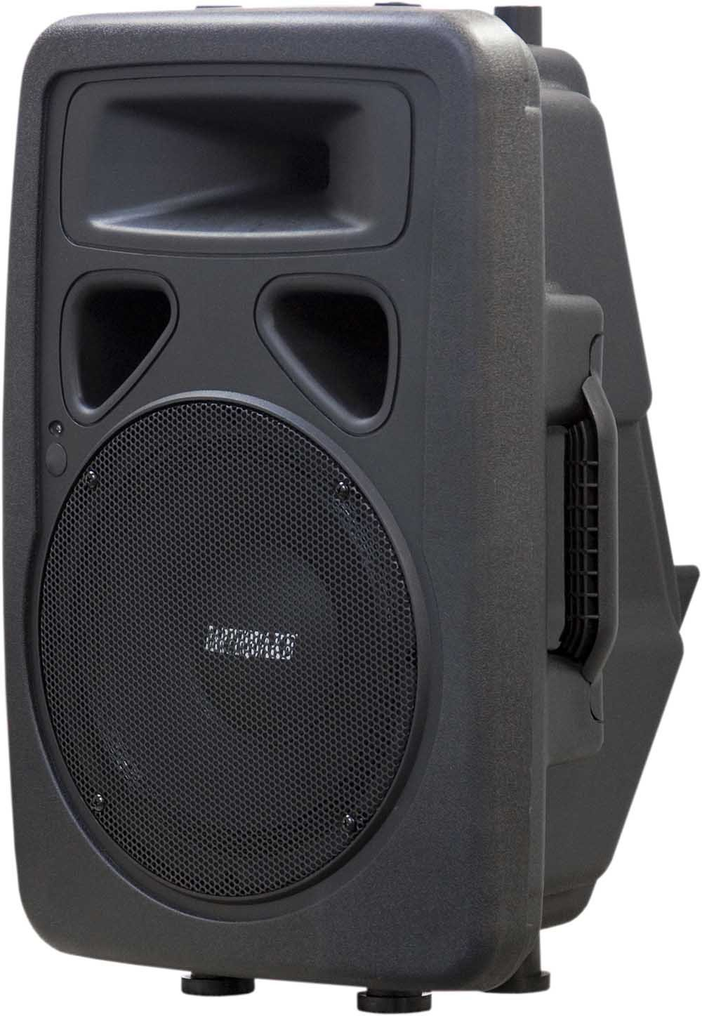 Earthquake Sound DJ-10M Powered 10-inch 2-Way Monitor/PA Speaker (Single)