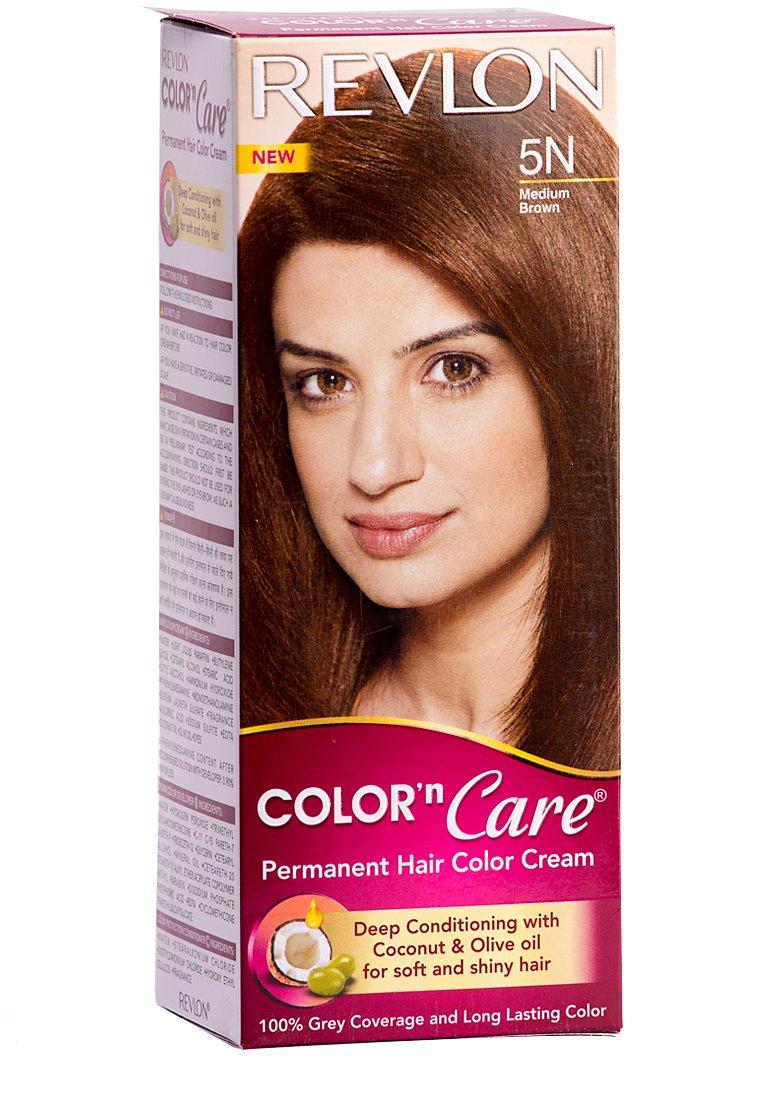 Buy Revlon Color N Care Permanent Hair Color Cream Medium Brown 5n