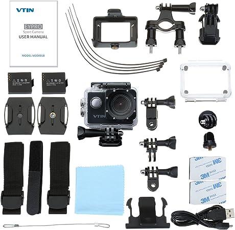 VicTsing - Cámara Deportiva Impermeable de 1080p WIFI y sumergible ...