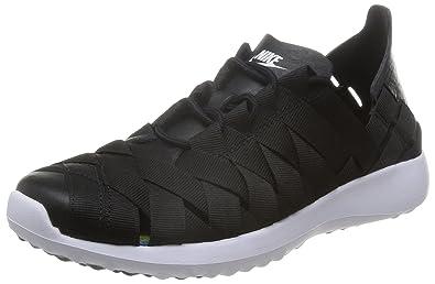 lowest price 37434 988e4 Nike W Juvenate Woven, Chaussures de Sport Femme, NoirNoir-Blanc,
