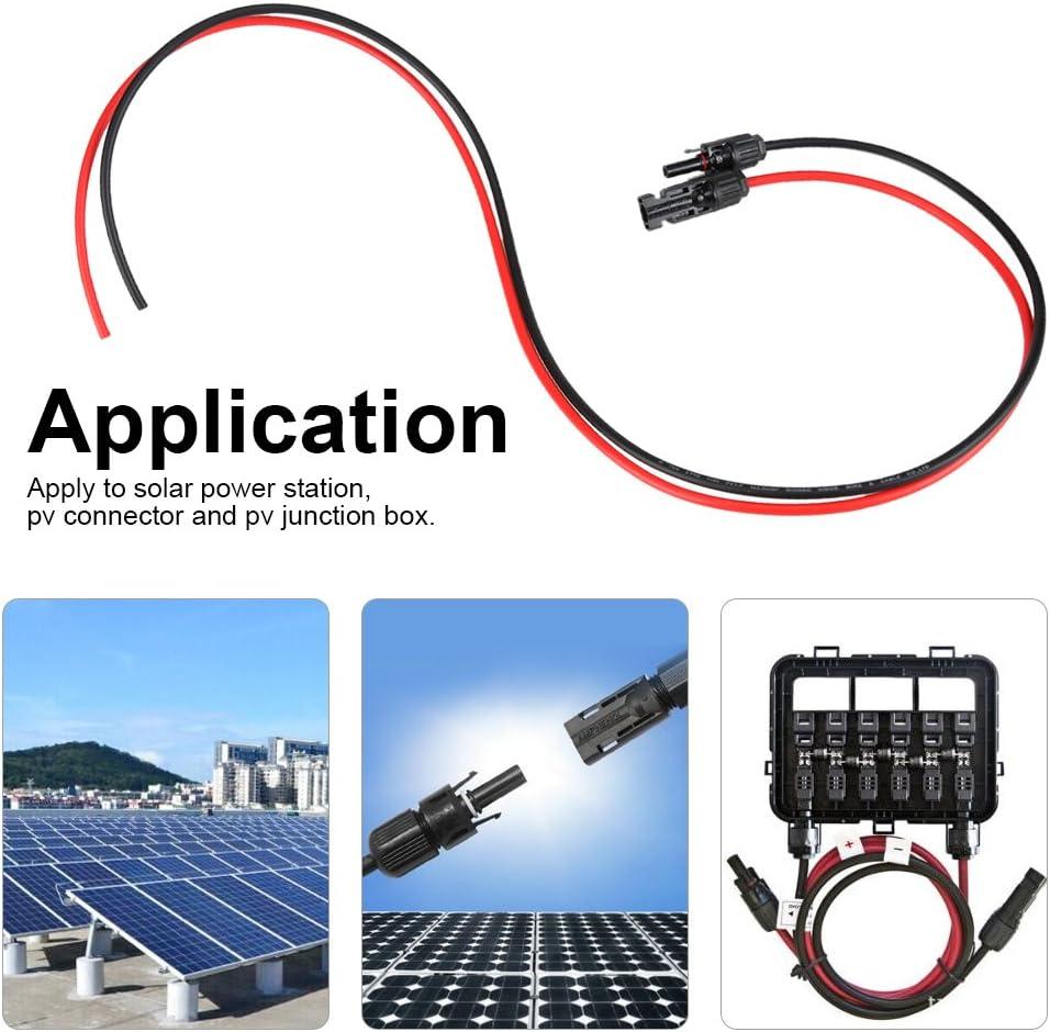Femelle Câble montage panneau solaire connecteur coupleur classée 25 A, câble CSA4mm²