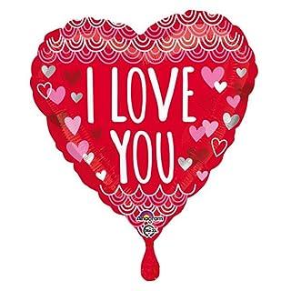 amscan 3422101Palloncino Foil I Love You