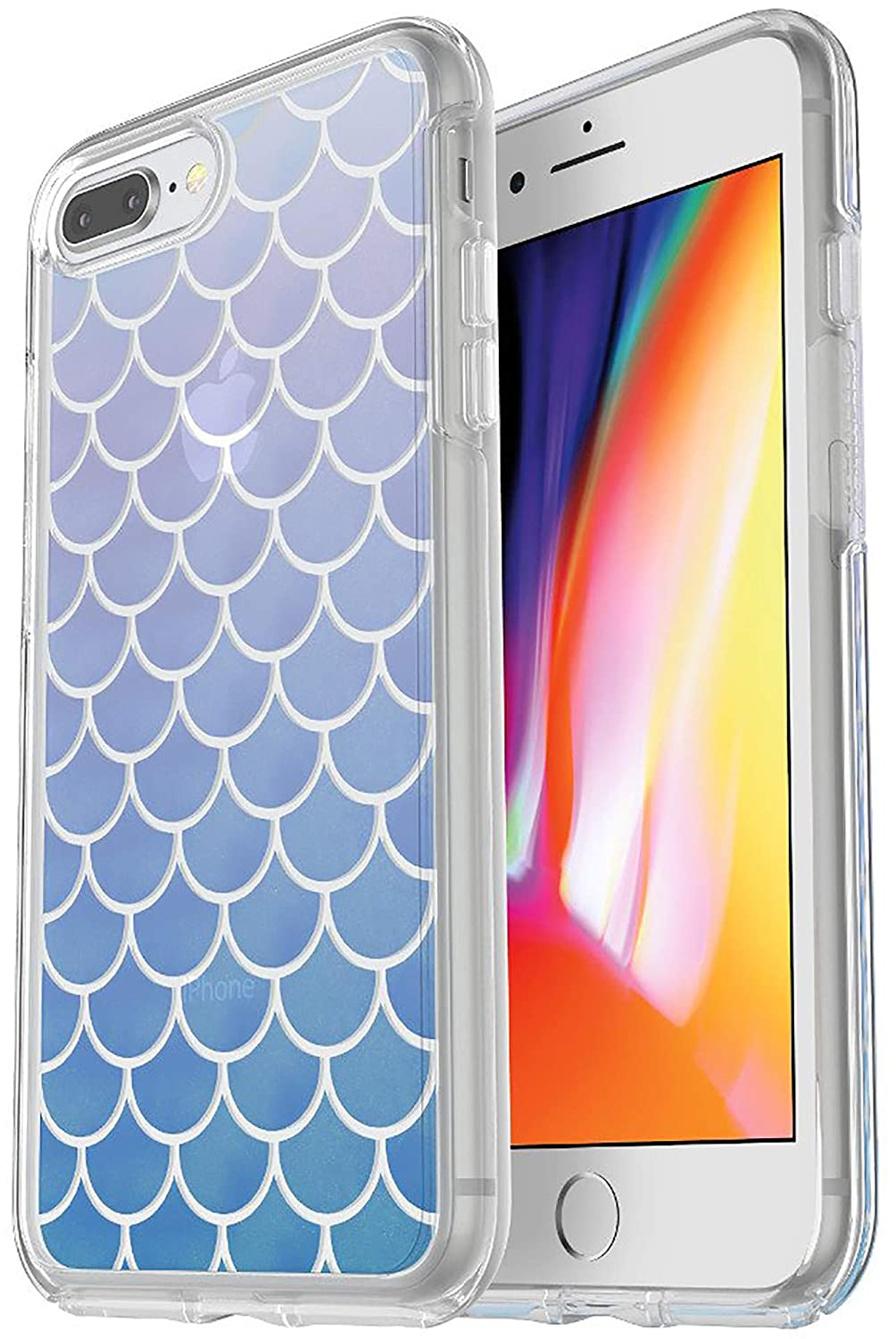 buy popular 5ce9e 5077b OtterBox SYMMETRY SERIES Case for iPhone 8 PLUS & iPhone 7 PLUS -  Non-Retail Packaging - MERMAID TAIL