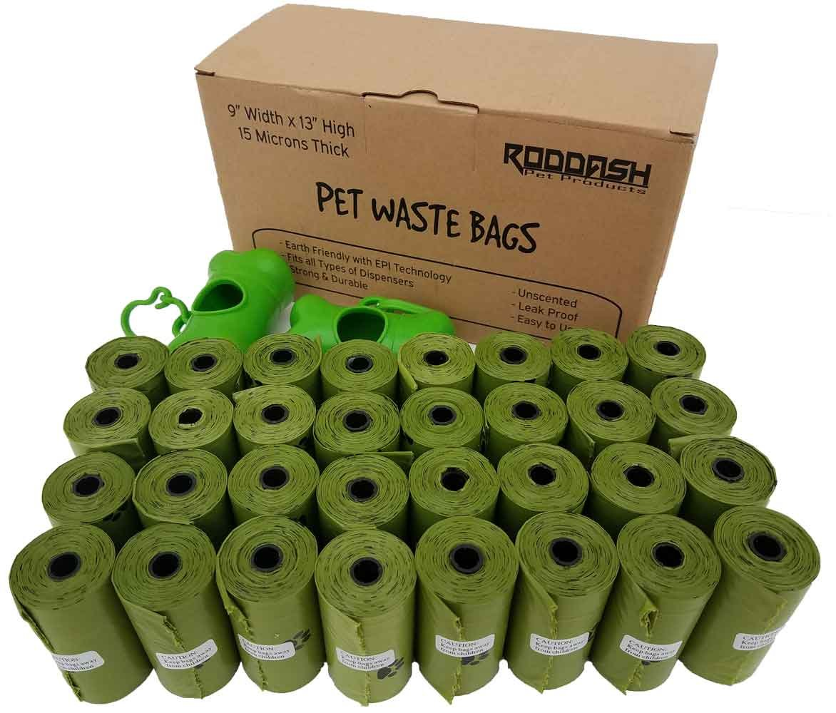 9\ Pet Waste Bags (Unscented, 9 W x 13 H)