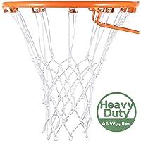 Syhood Red de baloncesto de repuesto para todo tipo de clima, se adapta a aro de baloncesto estándar para interiores o…