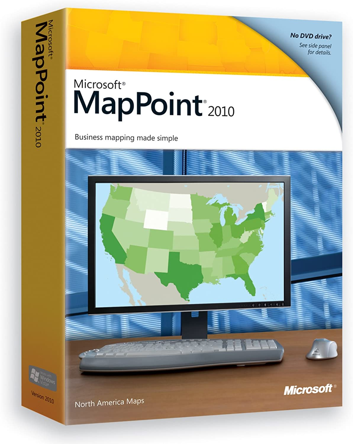 Cheapest Microsoft Mappoint 2009 North America