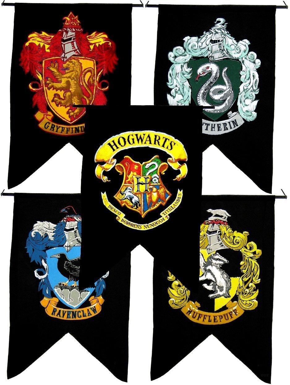 Bundle 5 Items Harry Potter Gryffindor Slytherin