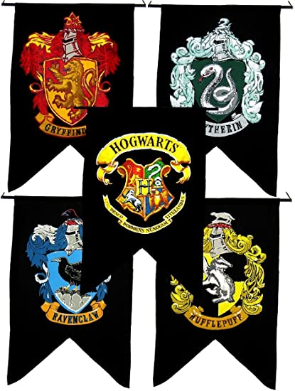 Amazon Bundle 5 Items Harry Potter Gryffindor Slytherin