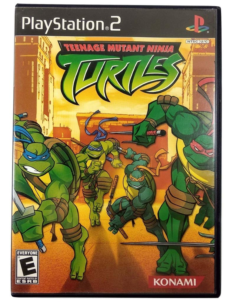 Amazon Com Teenage Mutant Ninja Turtles Ps2 Video Games