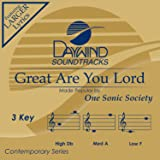 Great Are You Lord [Accompaniment/Performance Track]