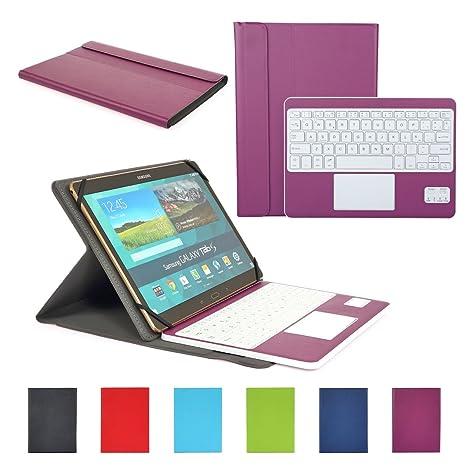 Funda con Teclado Bluetooth CoastaCloud Teclado Bluetooth Inalámbrico 3.0 QWERTY Español con Multi Touchpad: Amazon.es: Electrónica