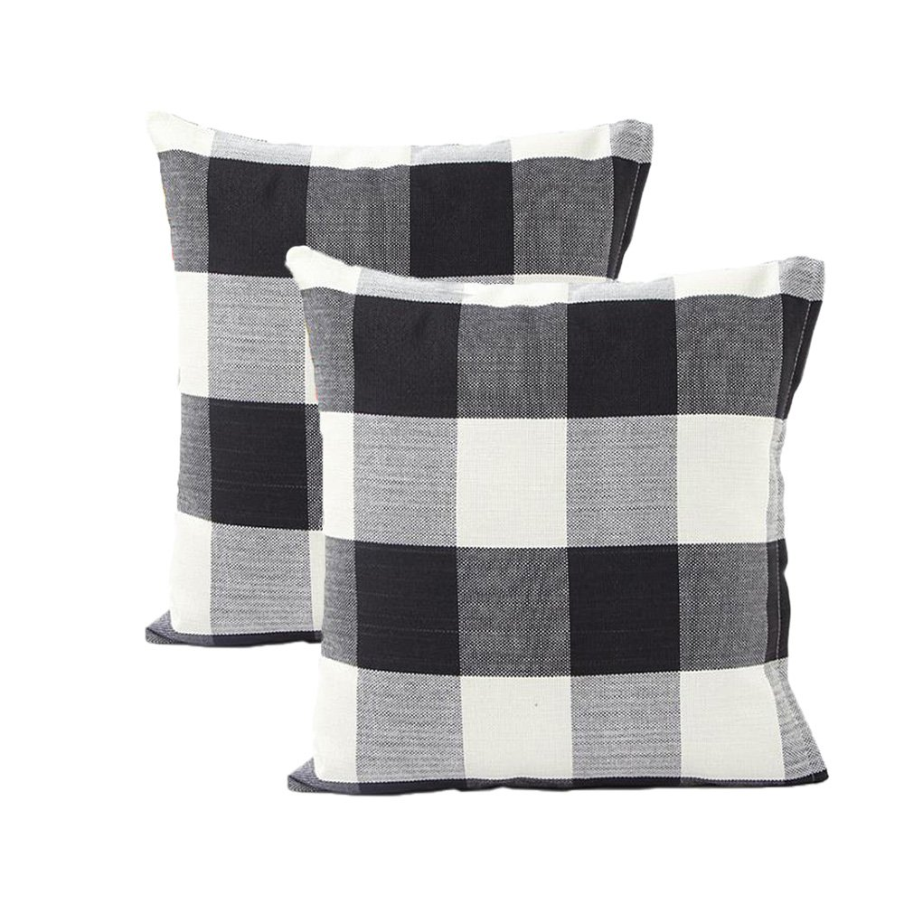 buffalo check pillows buffalo checks pillows set of two farmhouse pillows