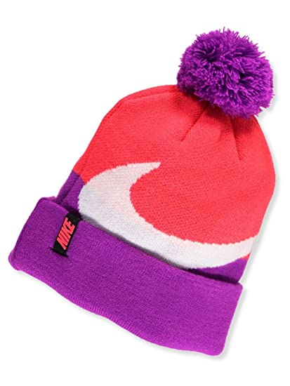 Amazon.com  Nike Big Girls Beanie (One Size) - bright crimson 988a67185fb