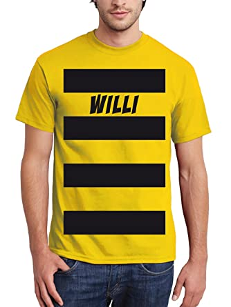 Clothinx Herren T Shirt Karneval 2019 Biene Willi Kostum Amazon De