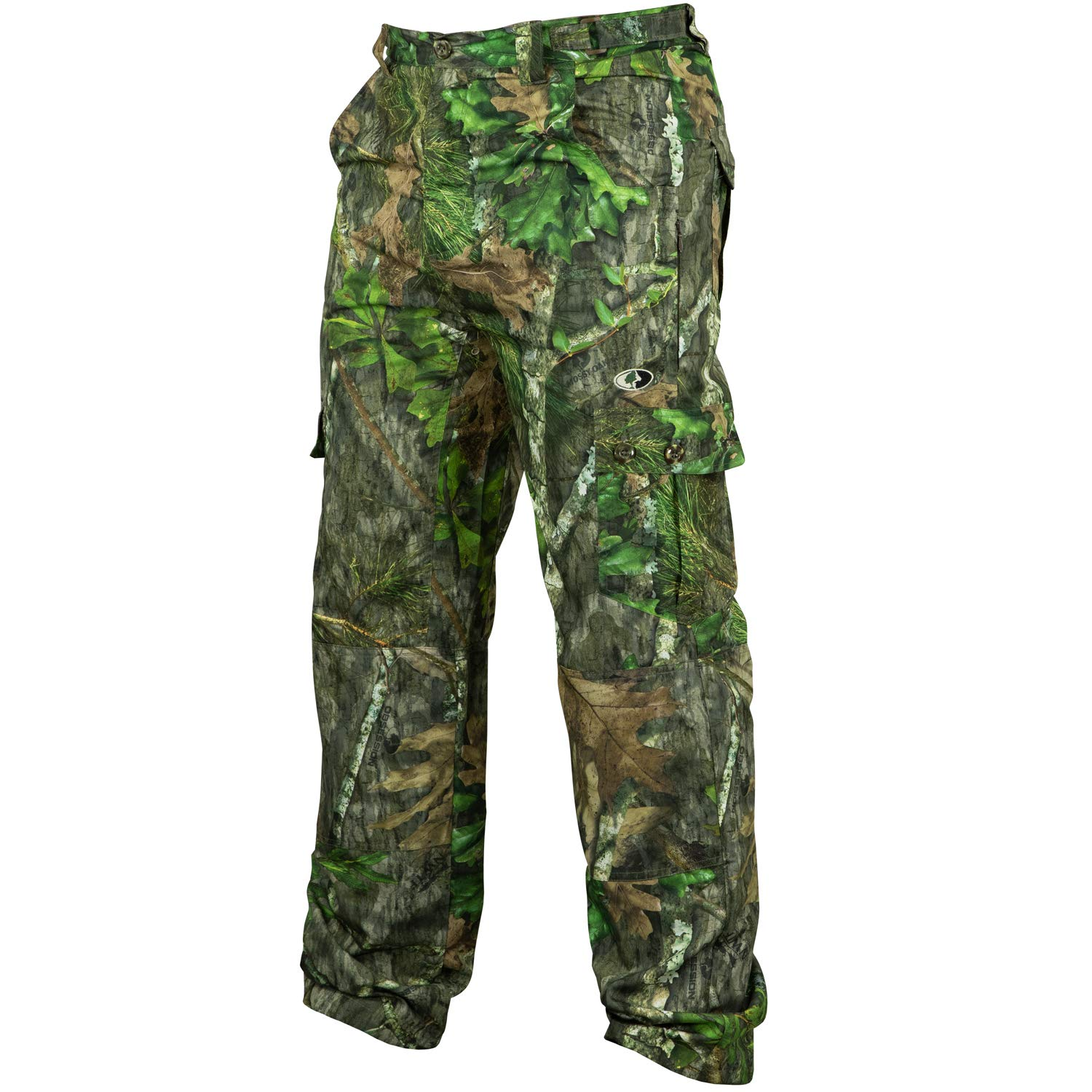 Mossy Oak Camo Lightweight Hunting Pants for Men Camouflage Clothing, Small, Obsession by Mossy Oak