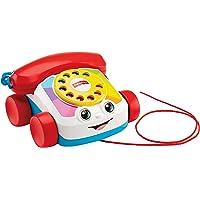 Fisher-Price Teléfono carita divertida, juguete educativo bebé +1