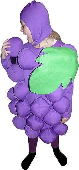 Ikumaal SY18 Tamaño 6-7 años traje de uva para los niños, cómodo ...